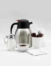 Hot Coffee & Condiments
