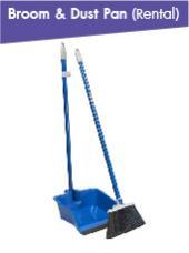 Broom & Dust Pan(Rental per Event)