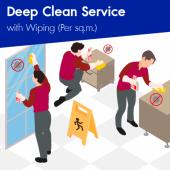Deep Disinfectant Cleaning (Min. order 200 sq.m)
