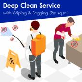 Deep Disinfectant Cleaning - Wiping and Fogging (Min. order 200 sq.m)