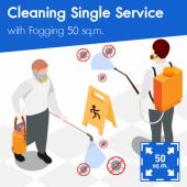 Disinfectant Spraying  for area 50 sq.m.