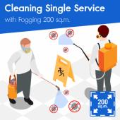 Disinfectant Spraying for area of 200 sq.m.