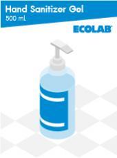 Hand Sanitizer Gel 500 ml.